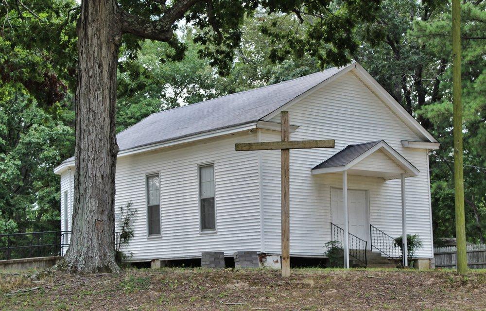Love Community Baptist Church, 1876