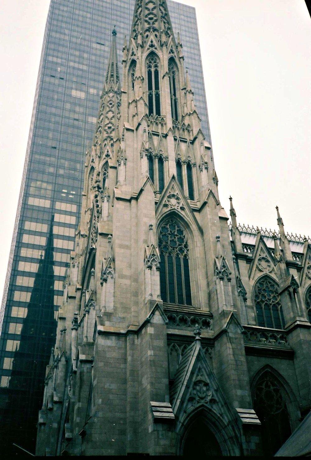 St. Patrick's Cathedral a, New York, NY, 1878