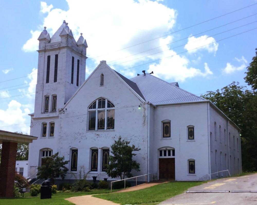 Lowrey Memorial Baptist Church, Blue Mountain, Miss., 1908