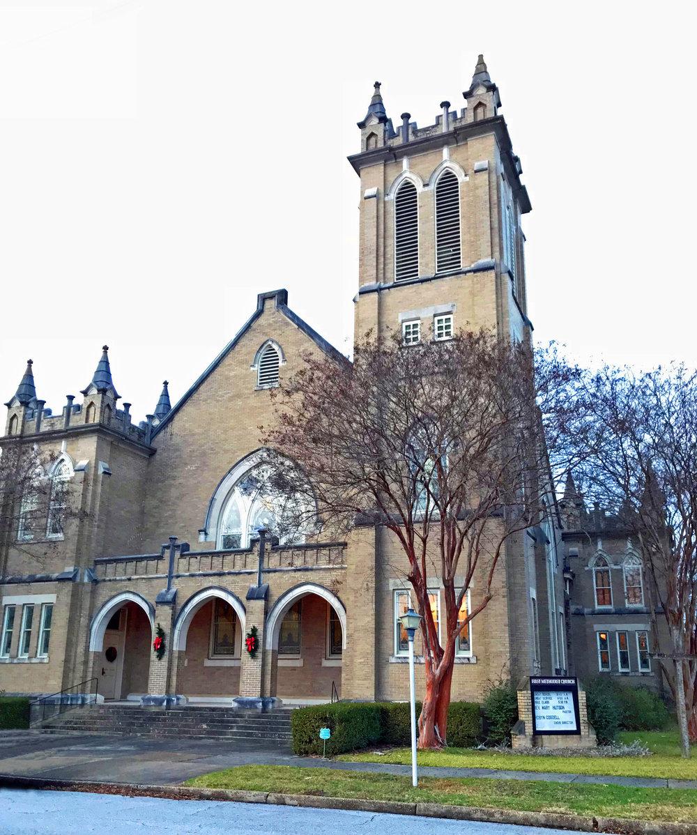 First United Methodist Church, Aberdeen, MS, 1912