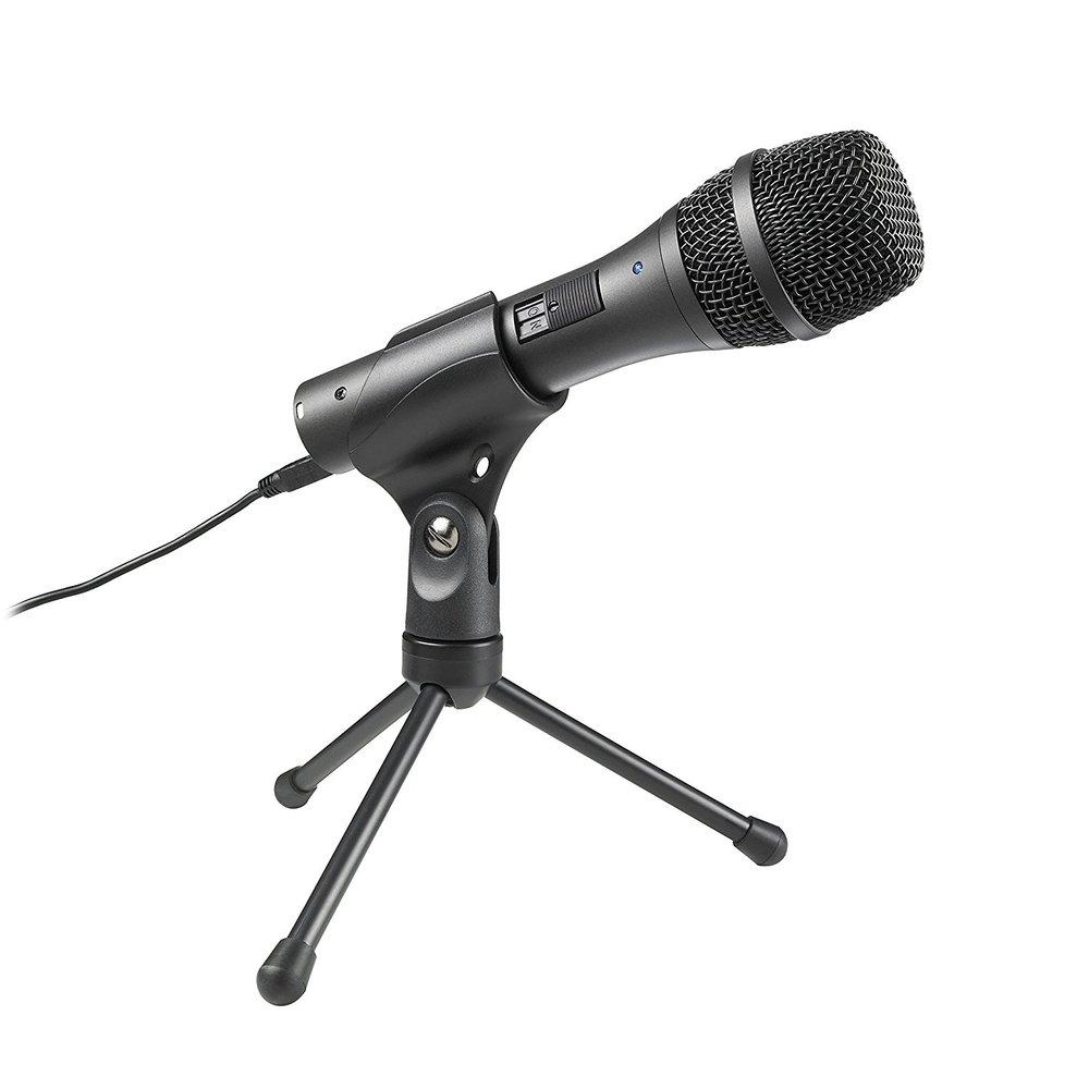 Audio-Technica AT2005USB Cardioid Dynamic USB/XLR Microphone -