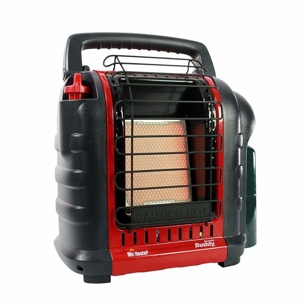 Mr. Heater Buddy 4,000-9,000-BTU Indoor-Safe Portable Propane Radiant Heater -