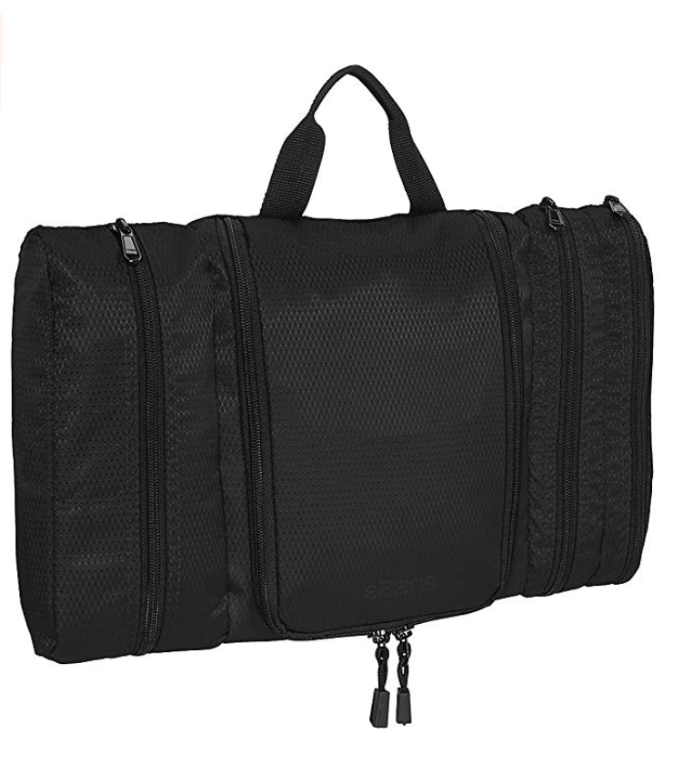 eBags Pack-it-Flat Hanging Toiletry Kit for Travel -