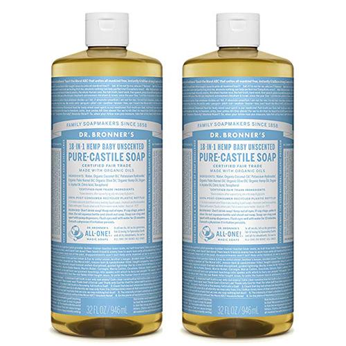 Dr. Bronner's Pure-Castile Liquid Soap Value Pack -