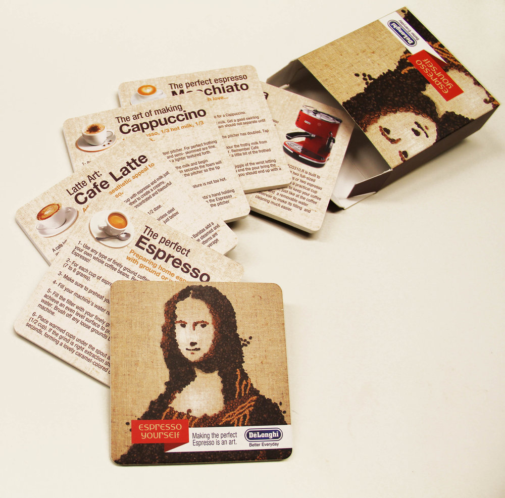 Delonghi 'Mona Lisa' Direct Mailer