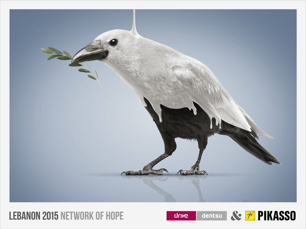 Pikasso & Drive Dentsu 'Network of hope'
