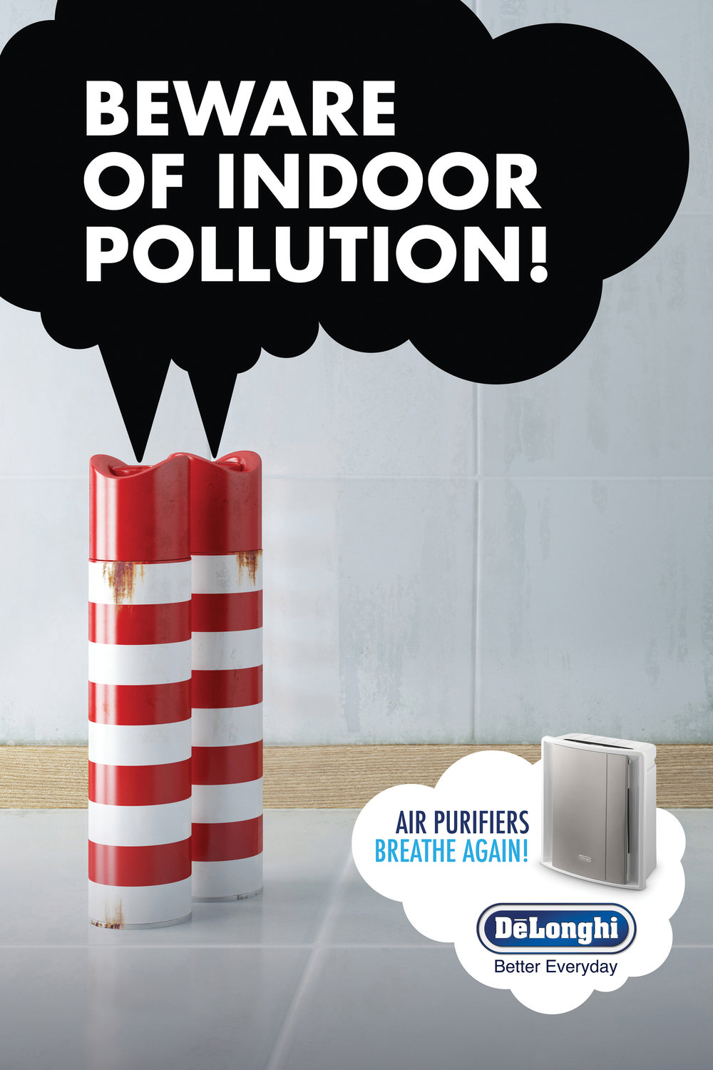 Delonghi Air Purifiers 'Sprays'