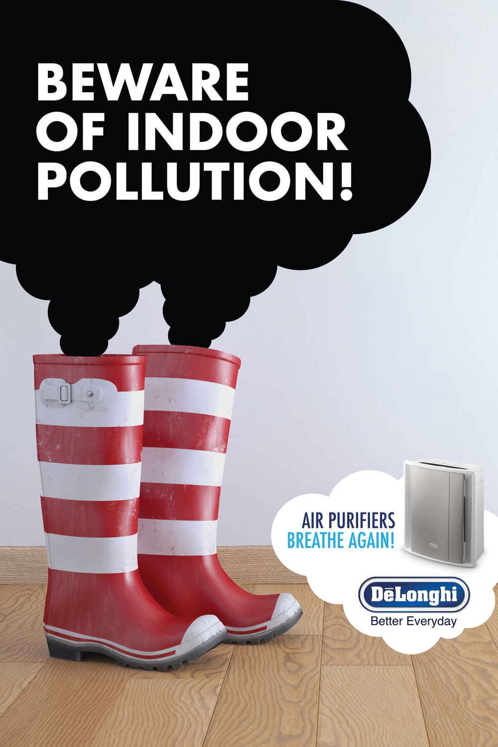 Delonghi Air Purifiers 'Boots'