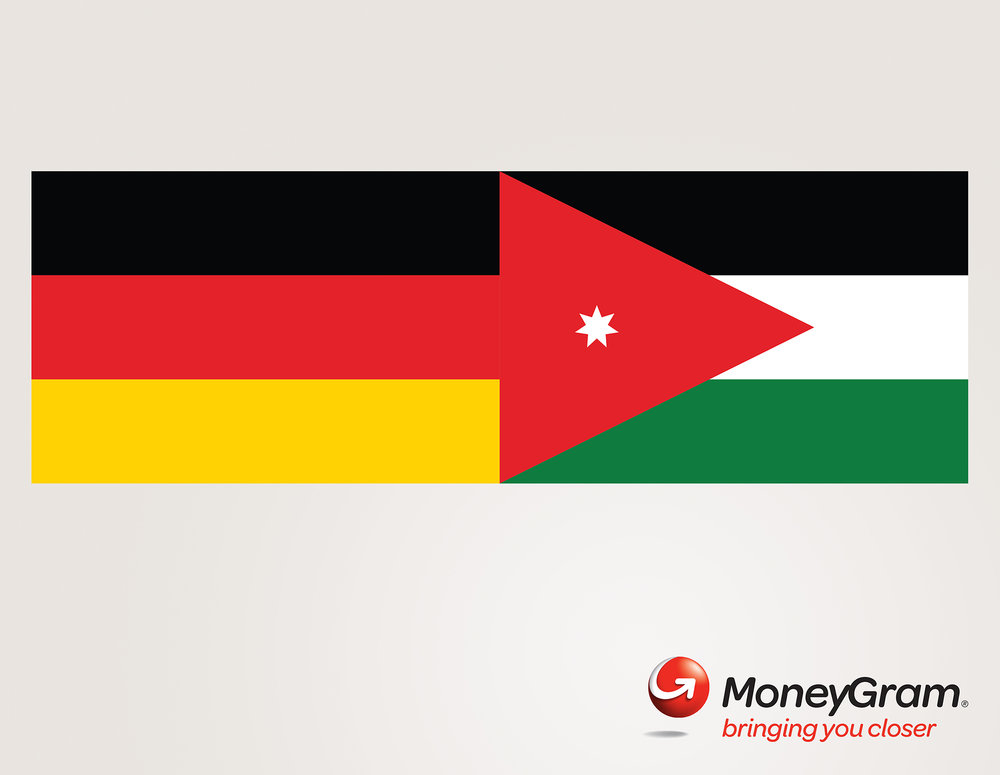 Moneygram 'Flags' Germany-Jordan