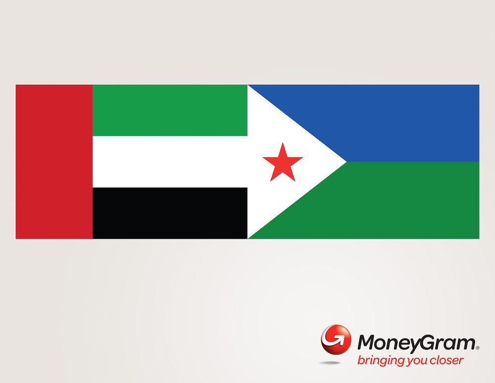 Moneygram 'Flags' UAE- Djibouti