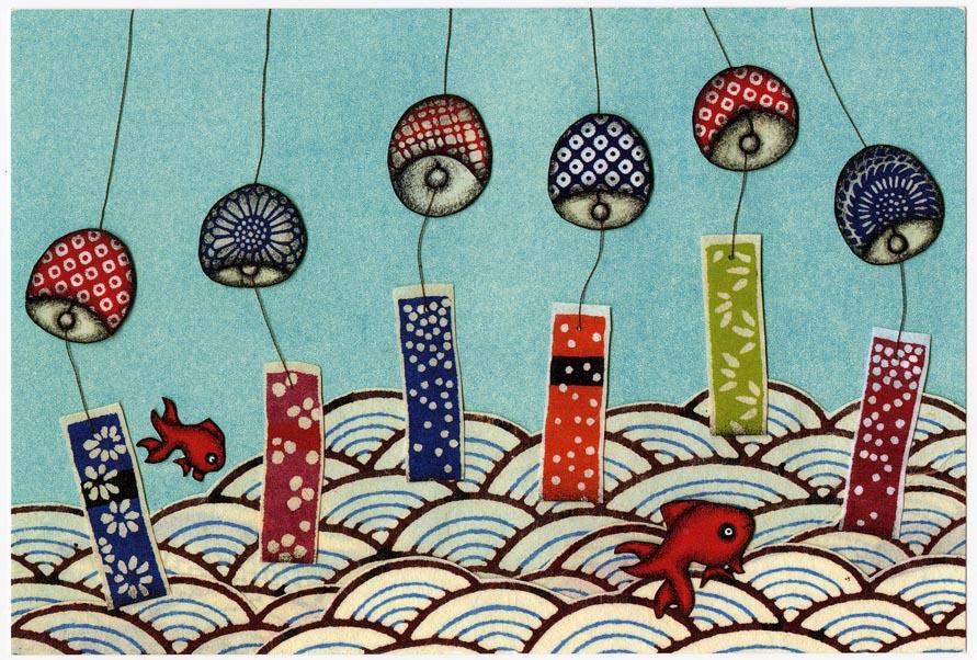Celebration of Summer Postcard, Tokyo 2010