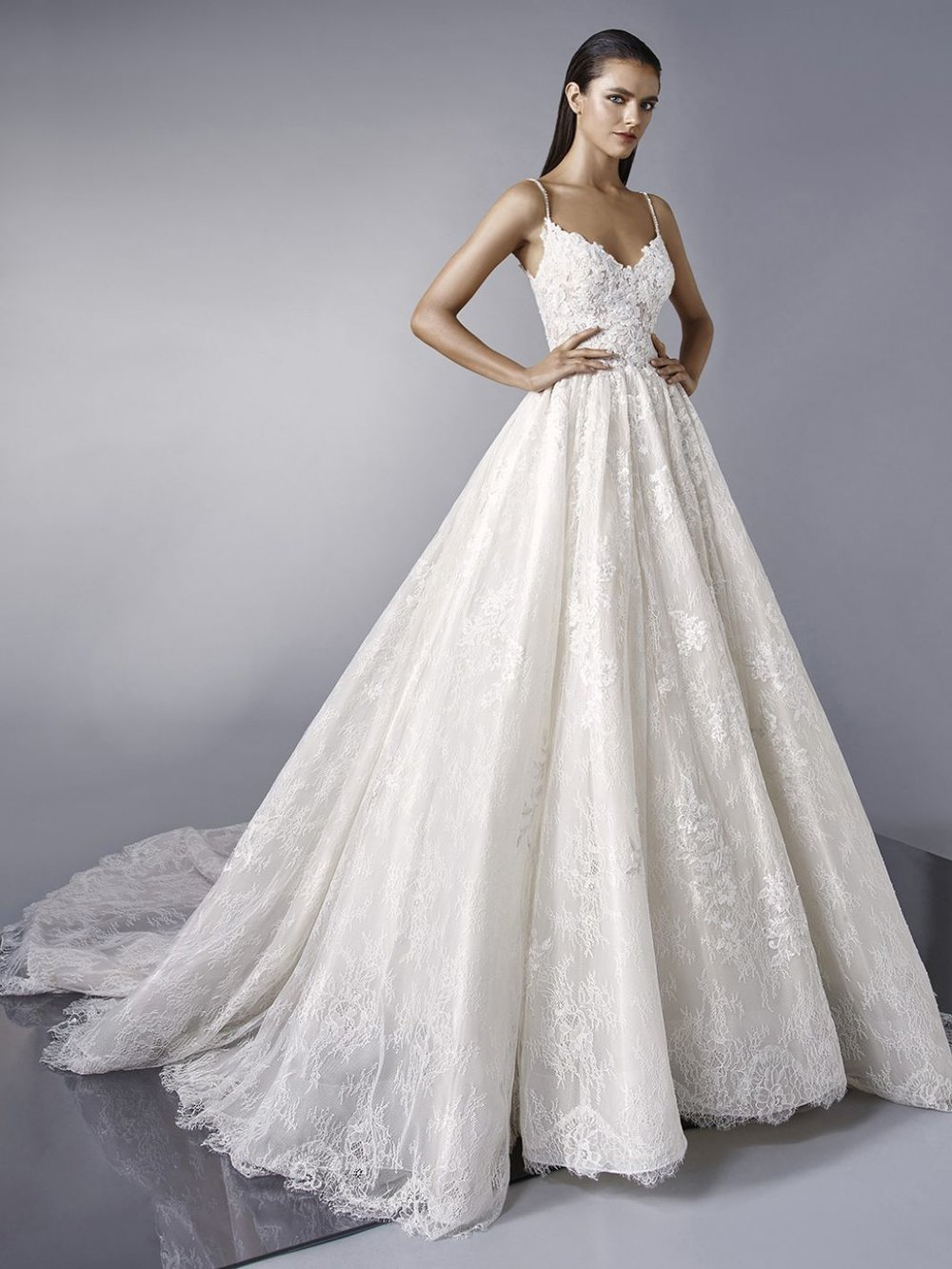 Our love for the ball gown wedding dress is at an all-time high. Our collection of princess ball gown wedding dresses gives the classic ballgown a modern update. If you're looking for a long sleeve ball gown wedding dress you will love our selection of princess wedding dresses with sleeves.