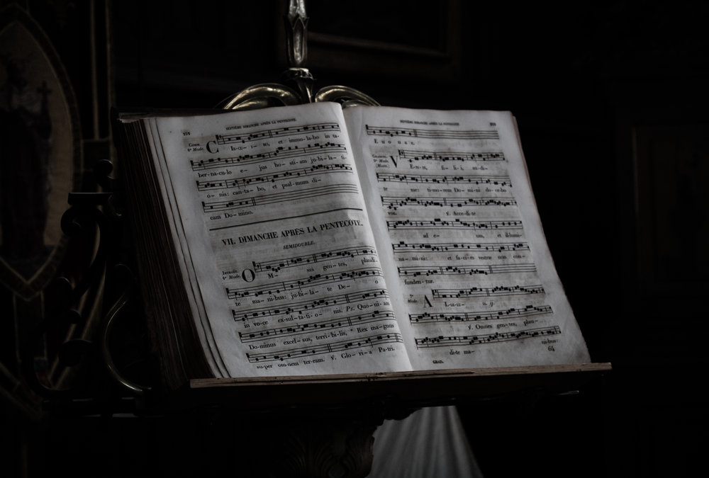 Your music! Beware that showing up without your music could result in undesirable consequences such as counting difficult rhythms, deciphering key signatures, and playing scales with more than 3 sharps or flats. :)