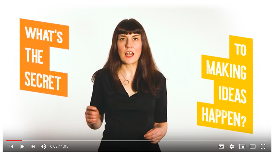 Video: learning how to fail — How to Have a Happy Hustle