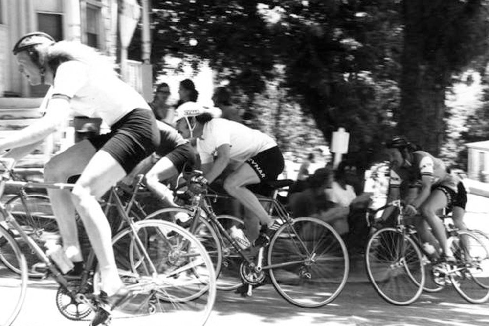 G. Fisher, P.R. Della Santa and D. Nall in Nevada City in the Early 1970's
