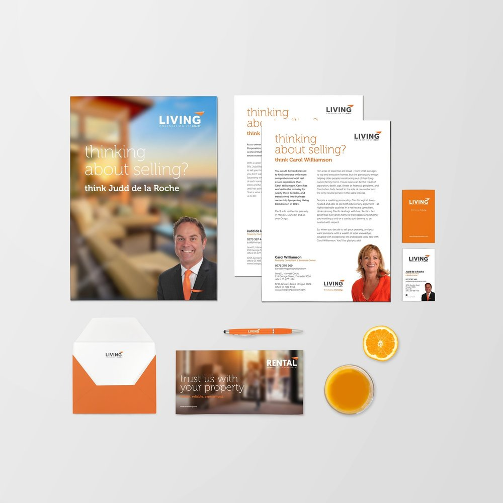 Branding & Design - Think of us as your creative partner - we work with you to create design outcomes that are functional and effective. Starting a business or rebranding? We thrive on helping our clients build, transform and maintain strong and compelling brands. From new brand development, brand refreshes to one-off creative projects our combination of strategy, creativity and customer centric approach sets us apart.