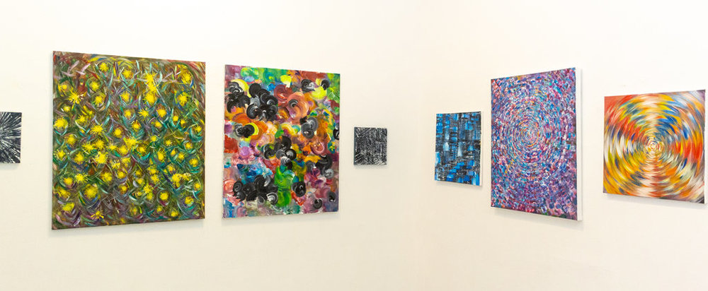 Installation view of Nicole Jenny,  The Beauty of Mathematics: The Nature of Reality , Gallery 1313
