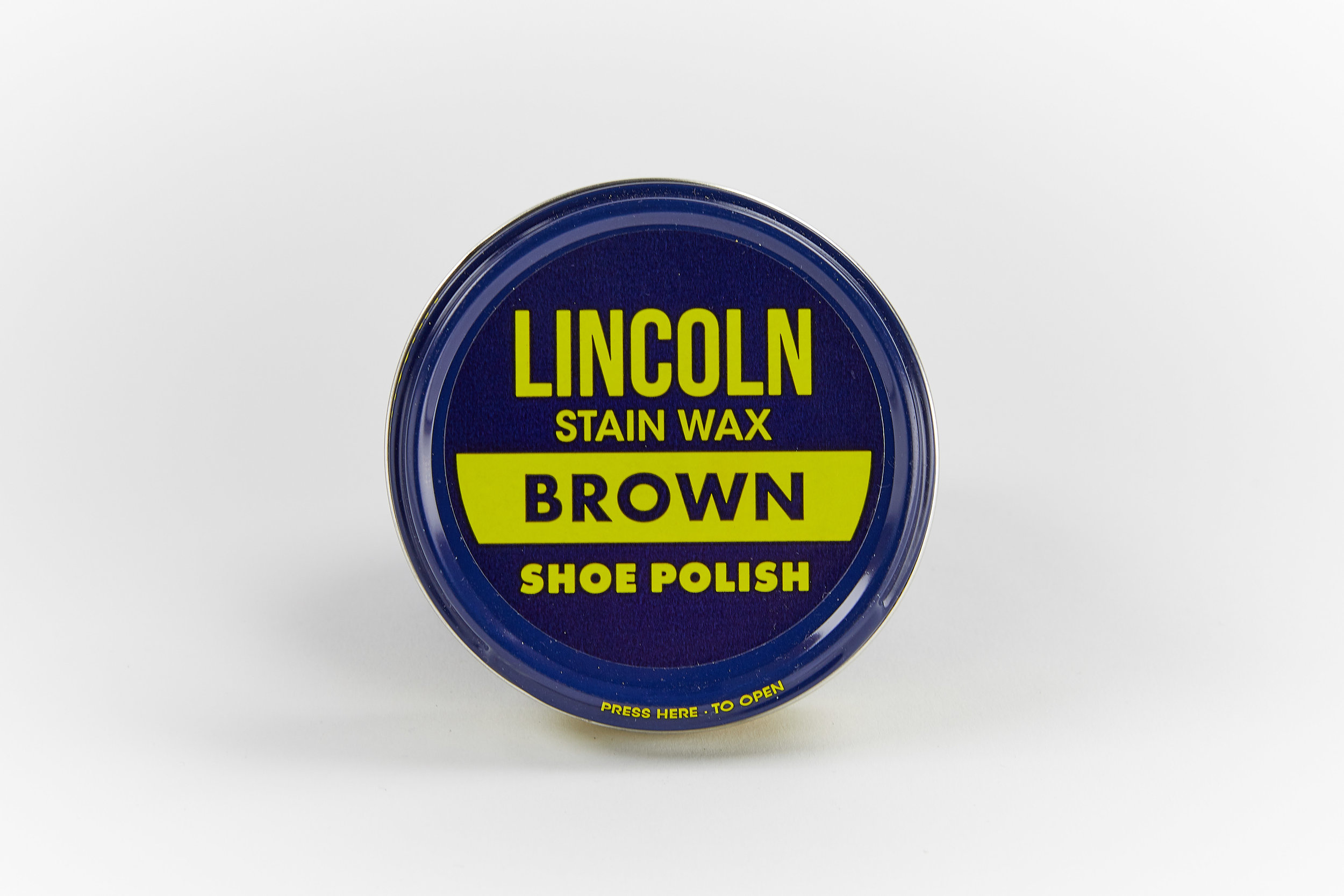 best loved hot sales authorized site Lincoln Brown Shoe Polish — George's Shoes & Repairs