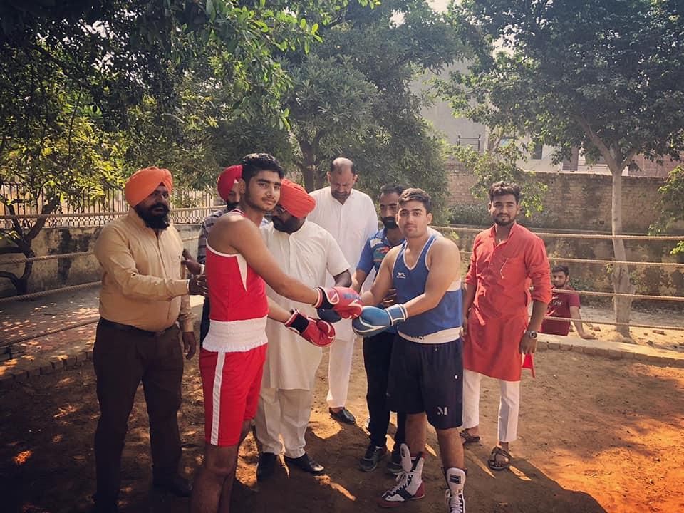 Bakshi win - Gold Medal in District Boxing