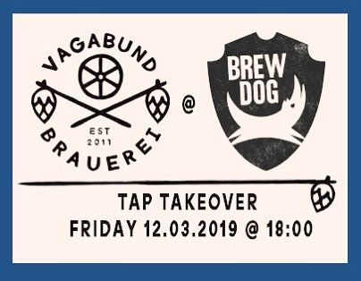 Come join us tonight at Brewdog where we'll have 6 beers on tap, 2 types of bottles in the fridge and almost the entire Vagabund team in attendance to answer all of your questions, thoughts, concerns and hand out life advice. It'll be a jolly good time! #vagabundbrauerei #brewdog #berlin #craftbeer #beergeek