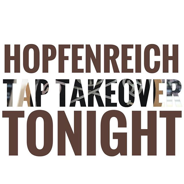 We are headed south tonight and taking over the taps @hopfenreich_berlin. Come out and party with us. Stories will be told, beer will be drunk, and then stories will be made. #craftbeer #vagabundbrauerei #berlin