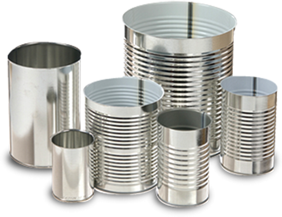 Tin Cans - Rolled sealed lids