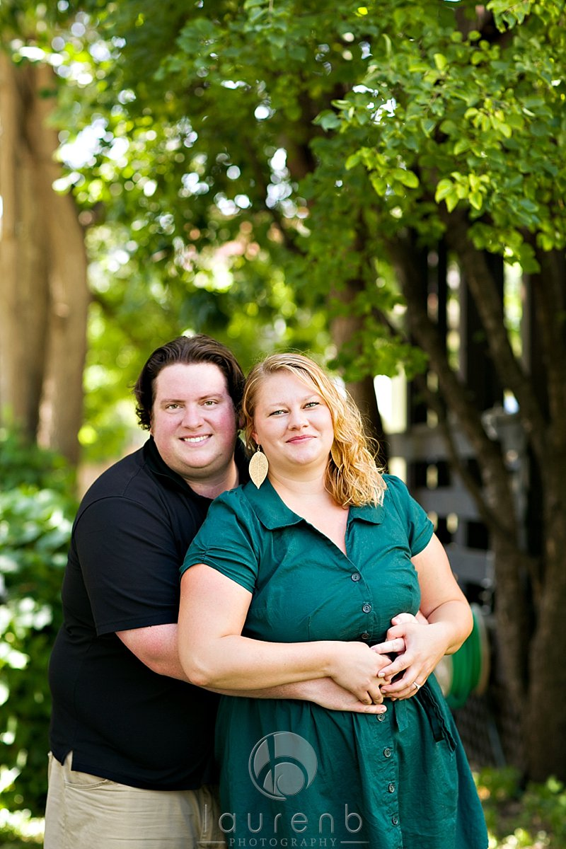 nature in the city couples session uptown Minneapolis