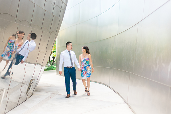 Sanaz Photography-Downtown Los Angeles-Engagements session1