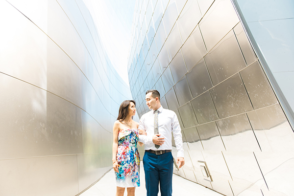Sanaz Photography-Downtown Los Angeles-Engagements session2