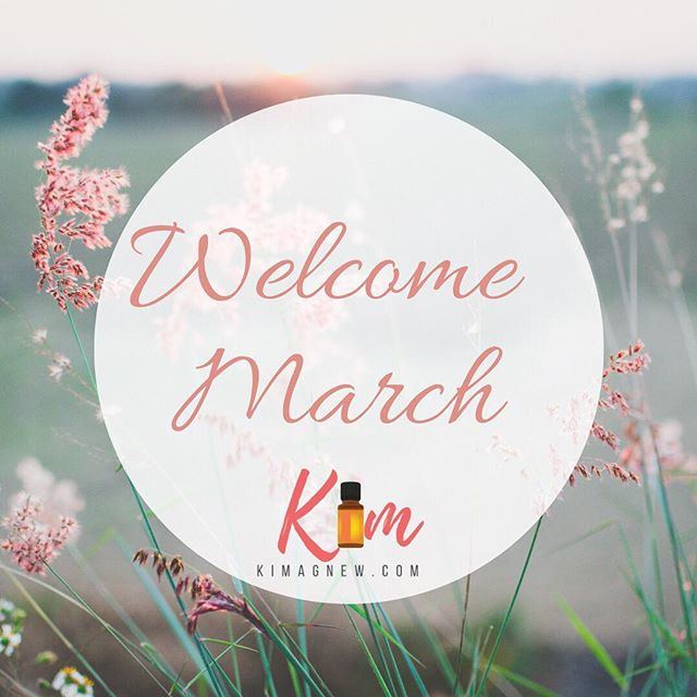 Welcome March! #springiscoming #doterra #weneedwarmweather