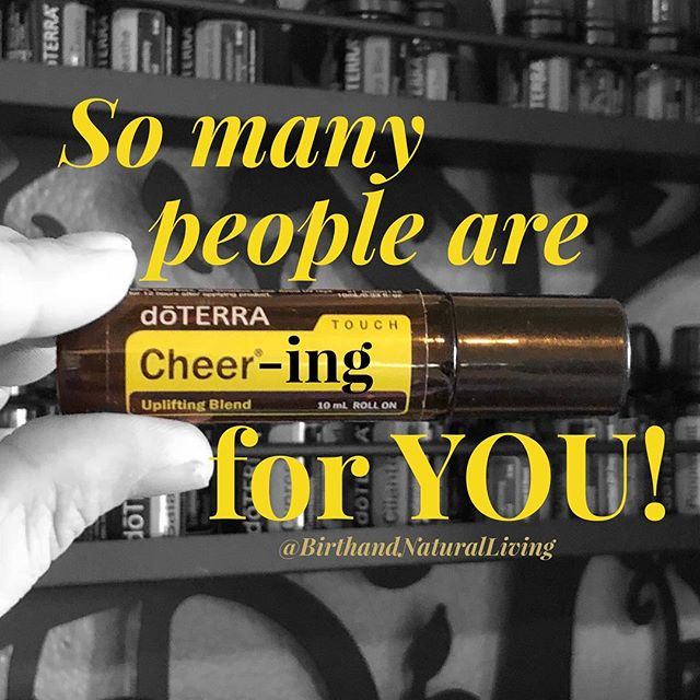 I AM CHEERING FOR YOU!