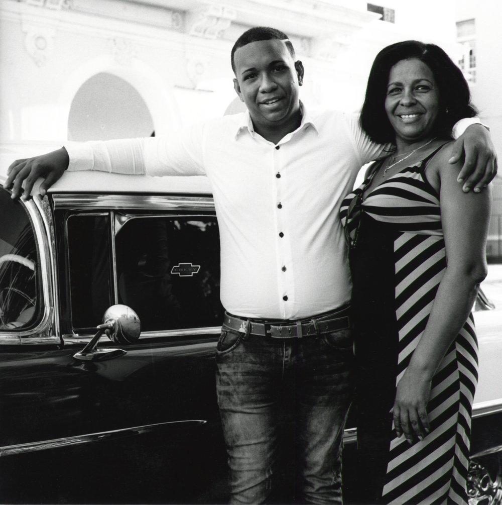 Couple at Town Square - Cienfuegos Cuba 2015