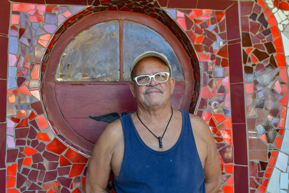 Artist Jose' Fuster - Havana Cuba 2015