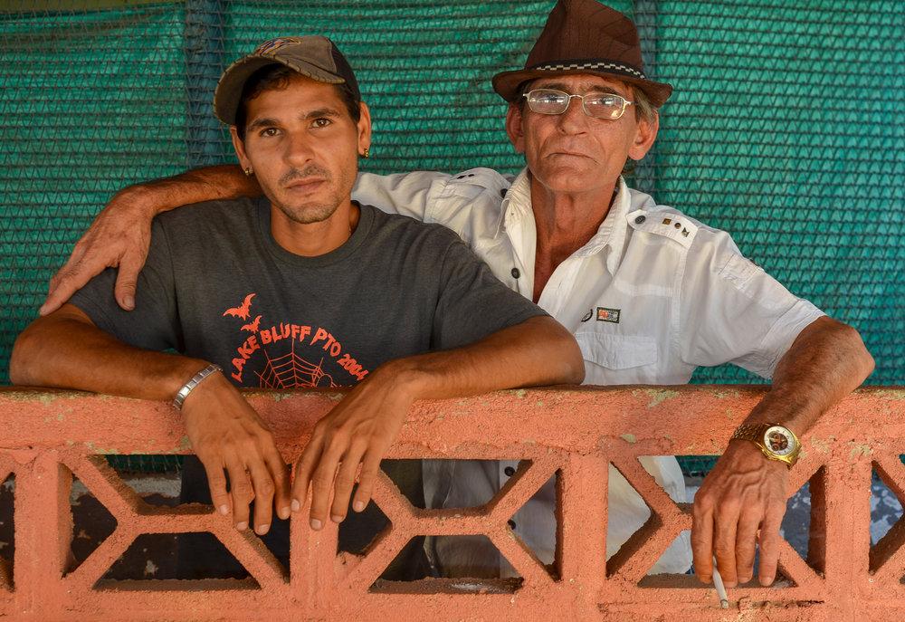 Father & Son Marketplace - Cienfuegos Cuba 2015