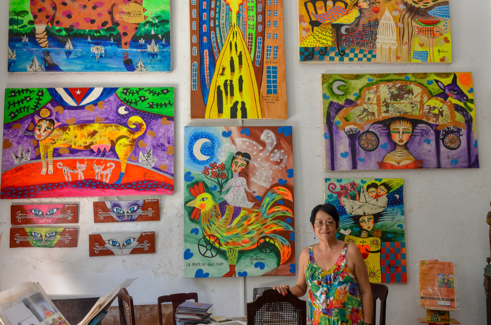 Martalena Art  Studio - Havana Cuba 2015