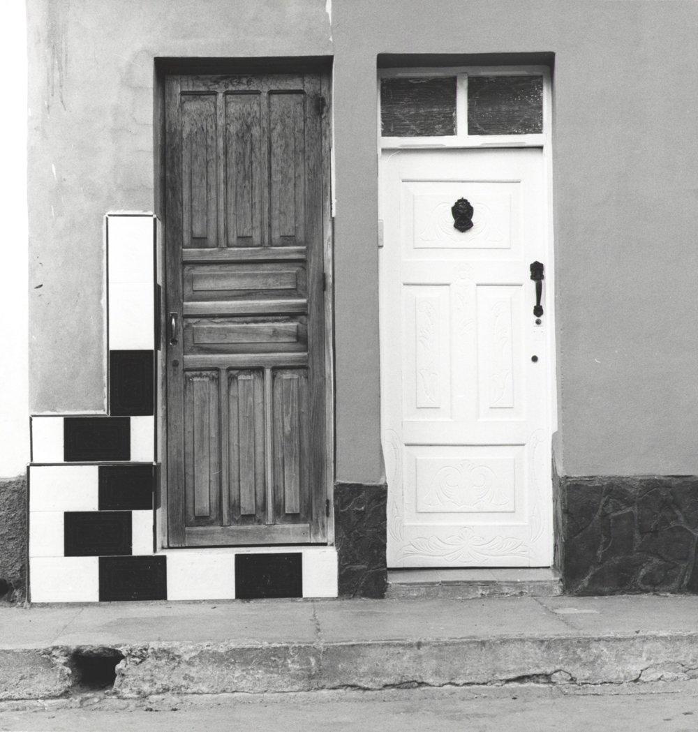 Two Doors - Havana Cuba 2015