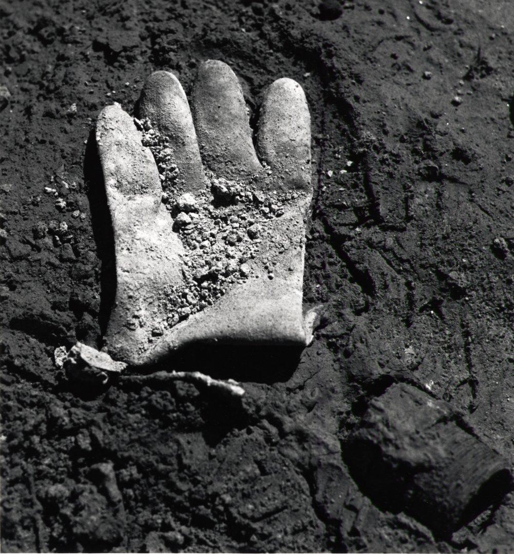 Glove In Dirt -  1990's