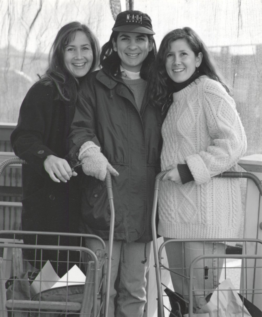 Three Sisters Shopping - Pasadena CA 1994