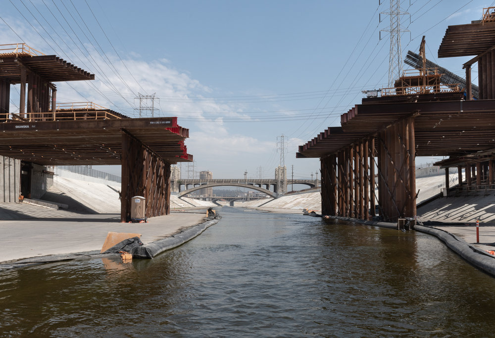 6th St. Viaduct Crossing the LA River - 2018