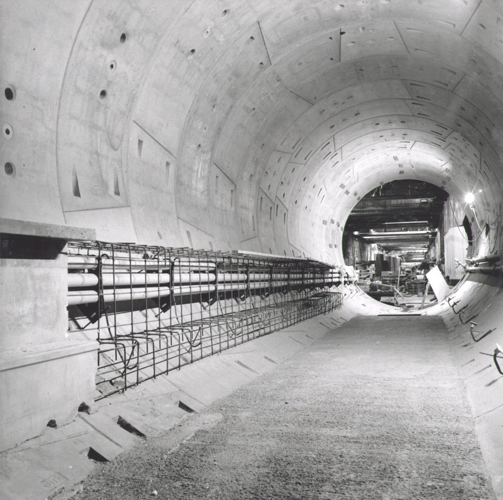 North Tunnel Looking West - Below Flower St. 2019