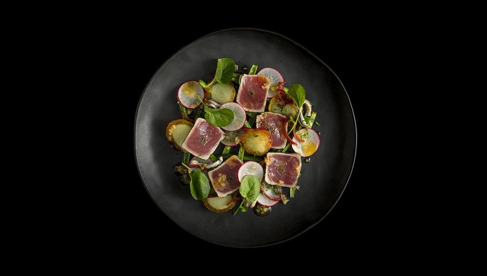 Niçoise salad from The Recipe, image copyright © Kieran E. Scott