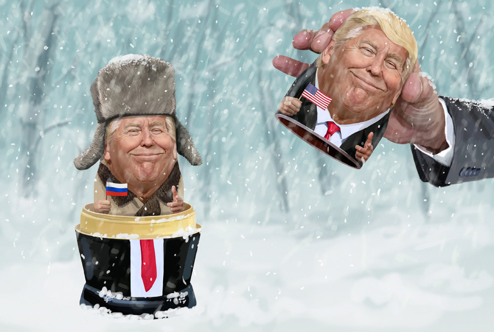 """Russian"" Donald Trump"