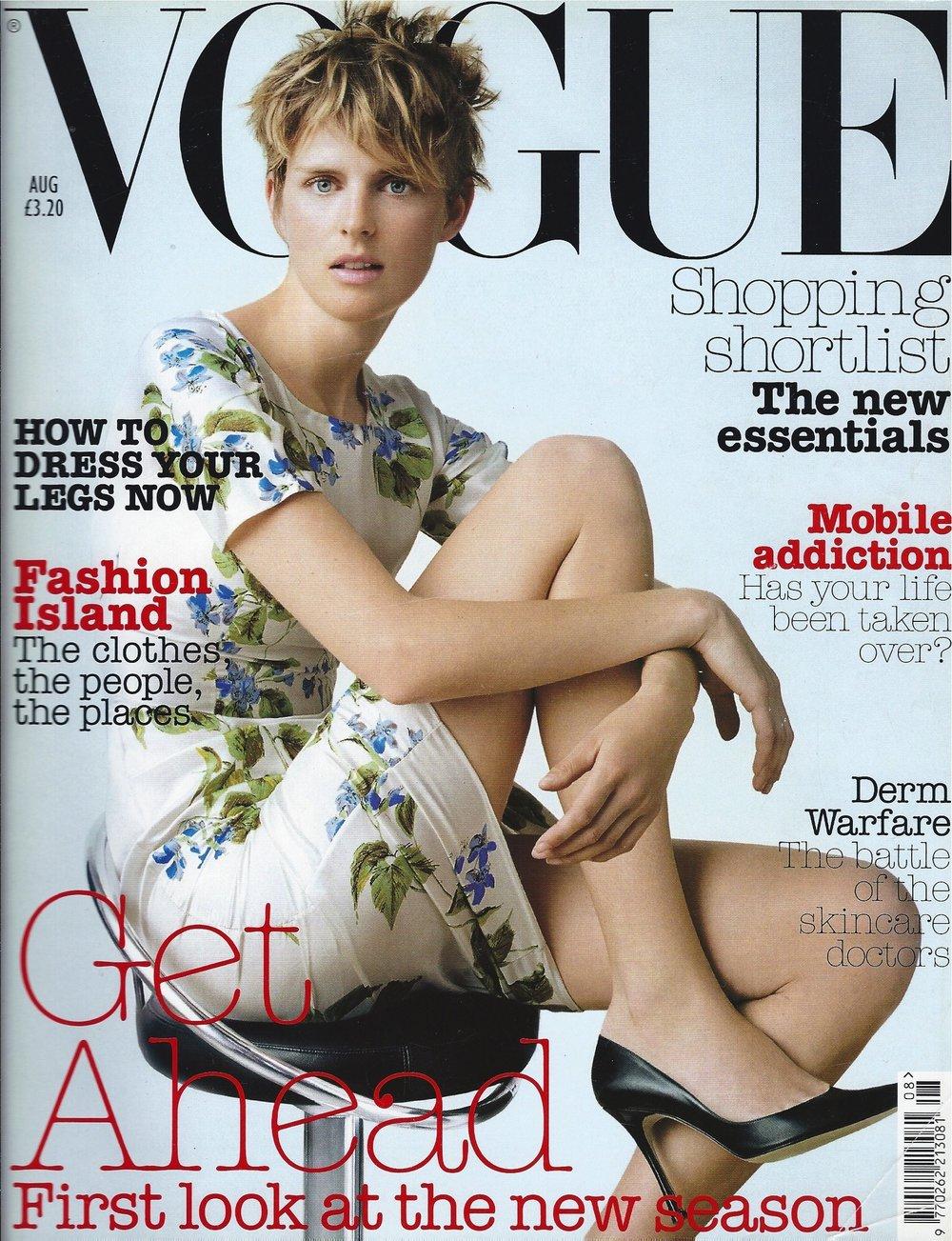 Corinne Day - British Vogue Cover - Kate Phelan Styling - Lisa Butler Make-up Stella Tennant.jpg