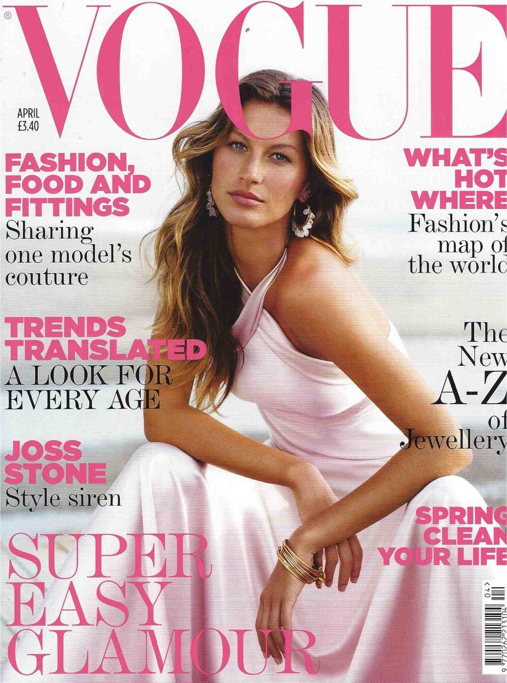 Patrick Demarchelier - British Vogue Cover - Gisele Bundchen April 2005.jpg