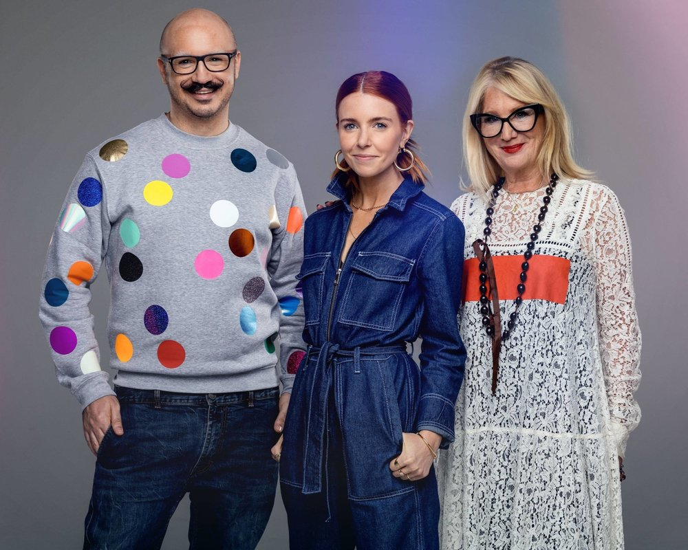 Glow Up: Dominic, Stacey and Val