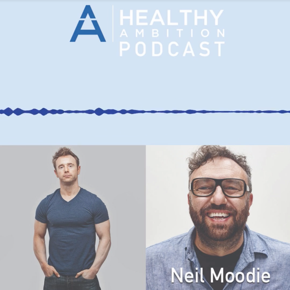 "Scott Laidler Interviews Me for his ""Healthy Ambition"" Podcast"
