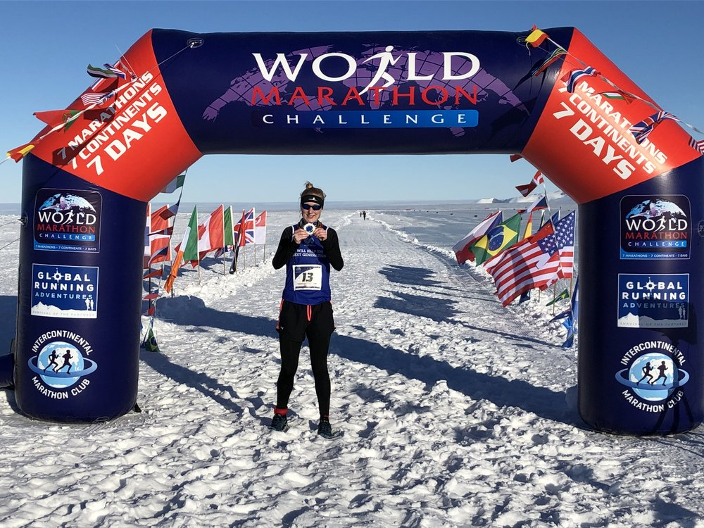 WORLD MARATHON CHALLENGE - Learn more about this epic challenge spanning seven continents.
