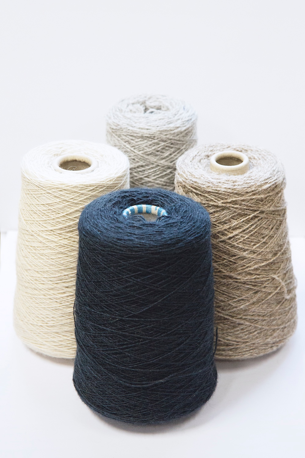 LOCALLY SOURCED WOOLWe source our Wool from Fernhill Farm an 'holistic eco-farm on top of the Mendip Hills' - which is a short drive from our studio. The Wool colouring is native to the sheep and its superior fine fibres have full traceability to the farm & surrounding SW areas. -