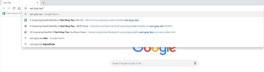 Head Keyword Search Engine Results