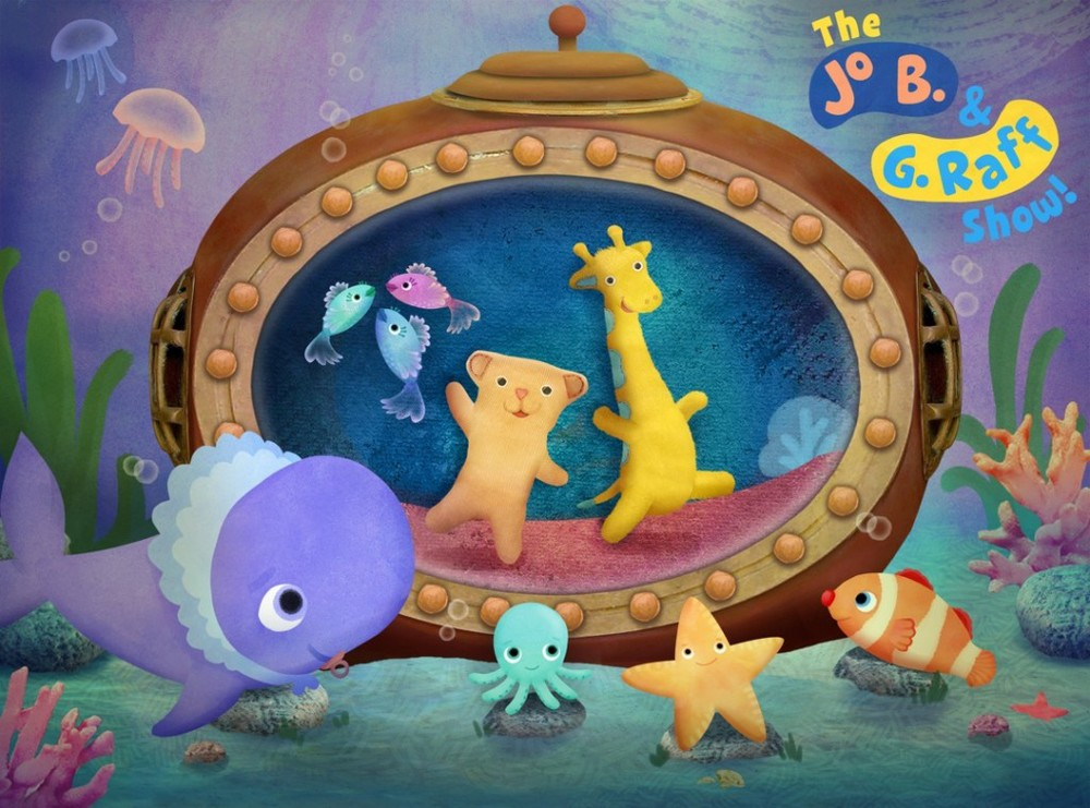 """Art Director, visual development and character design """"The Jo B. & G. Raff Show!"""" Pilot for Amazon Studios with Little Airplane Productions"""